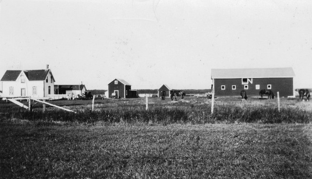 The Jacob (Berliner) K. Kehler's Farm in Ebenfeld (Mitchell), Manitoba