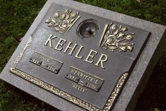 John J & Henritte (Hetty) Kehler, Valley View Funeral Home, Surrey BC