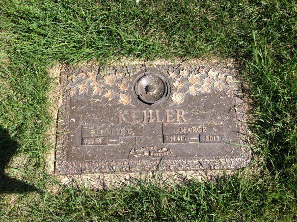 Marge Kehler - Glen Eden Memorial Gardens - Riverside Cemetery