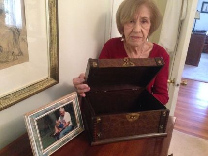 Mary Kehler Daniel says thieves stole her late husband's ashes