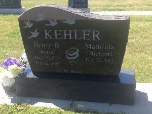 Henry B Kehler - Steinbach Heritage Cemetery