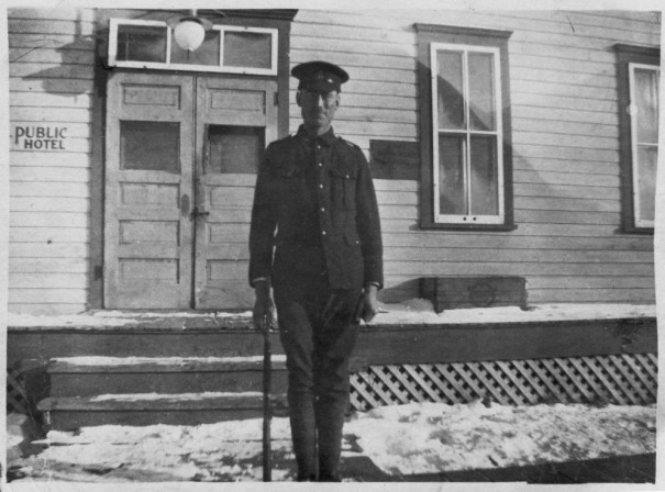 Johan S. Kehler, 1915, Canadian Armed Forces