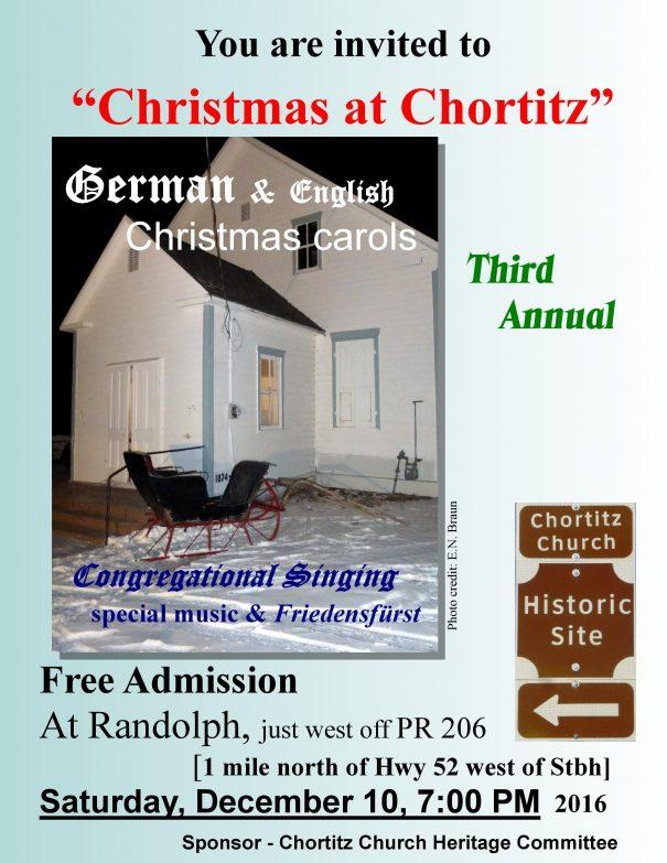 Christmas at Chortitz 2016
