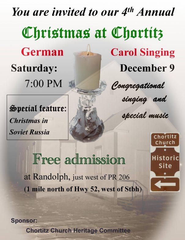 Chortitz Christmas 2017
